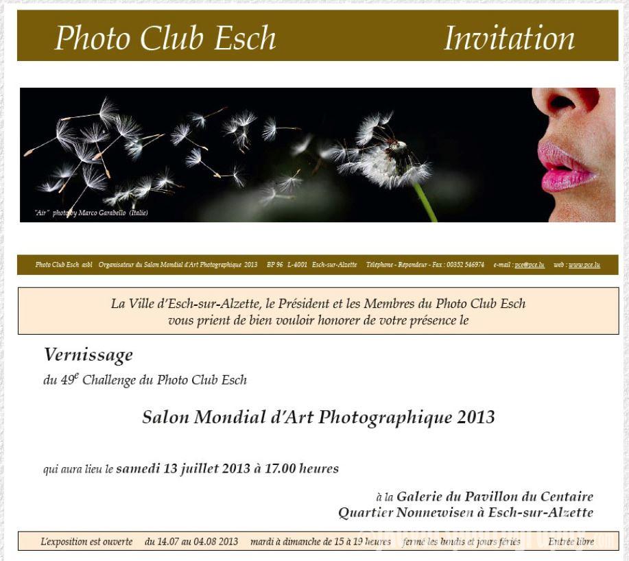 Salon Mondial 2013 Esch